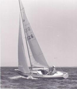 Athene på Løgstør Bredning I 1976