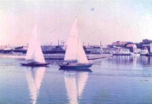 Festina - Thisted Havn - med det malede blå fribord