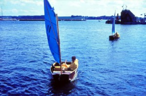 Kapsejlads i Kolding august 1966